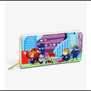 NWT Disney Loungefly zootopia wallet